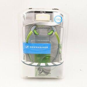 New SENNHEISER PMX 70 Sport In Ear NECKBAND HEADPHONES Green