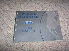 2005 Ford E-Series E250 Electrical Wiring Diagram Manual Commercial Recreational