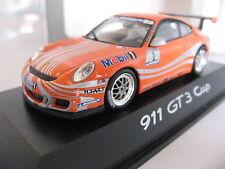 1/43 PORSCHE DEALER Minichamps PORSCHE 911 997 GT3 CUP display orange