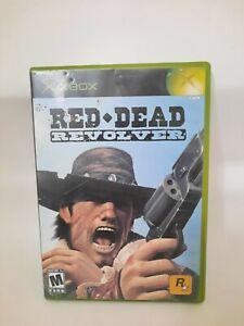 Red Dead Revolver Original Xbox- Complete- Excellent Condition