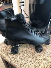 New Mens Old Stock In Box Vtg Roller Derby Skates Size 11 Model U360 Black Rare