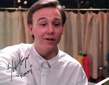 Keith Coogan Don't Tell Mom Babysitter Is Dead signed 8x10 photo with COA by CHA