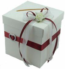 Briefbox Geldgeschenke Bordeaux Hochzeit Bb0018