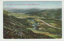 San Timeteo Canyon, Redlands, CA,Pre-Linen  Postcard