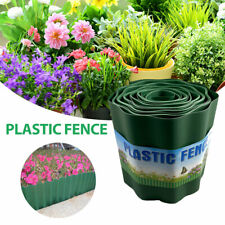 Lawn Border Edging Plastic Garden Grass Edge Fence Wall Driveway Roll Path Drive