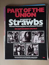STRAWBS - PART OF THE UNION sheet music