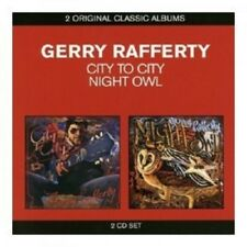 GERRY RAFFERTY - CLASSIC ALBUMS (2IN1) - CITY TO CITY & NIGHT OWL 2 CD POP NEW!