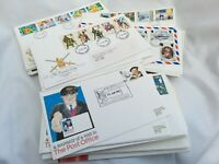 Stamps First Day Covers and Commemorative Letters Many Variants
