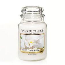 Yankee Candle Company White Gardenia Large Jar Candle
