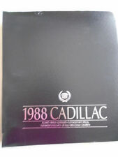 Cadillac range press release brochure 1978 c30 photos nearly 2kg