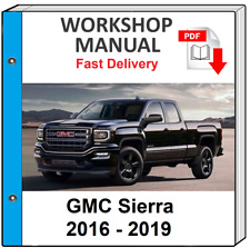 Other For Gmc Sierra Manuals And Literature For Sale Ebay