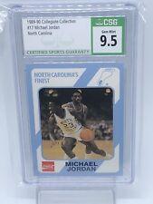 1989-90 Collegiate Collection #17 Michael Jordan North Carolina CSG 9.5 TarHeels