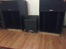 Custom Made Ashwood Speaker Stands for Klipsch La Scala 1, 2's, AL5's