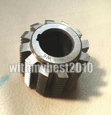 1pcs HSS Involute Gear Hob Cutter M9 Bore 40mm 30° PA Module 9 Gear Hob