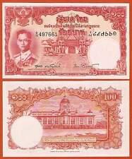 P78d     Thailand   100 Bath  1955   Signum 40  RAR..   UNC