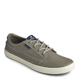 SPERRY Men's Sperry, Coast Line Blucher Sneaker Olive Size: US 10.5 NIB