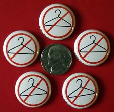 """Set of 5 Small Pro-Choice Pins Keep Abortion Legal Choice For """"Choices"""" Memphis"""