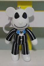 COLOR BEAR KEYCHAIN FIGURINE PLASTIC TOY NIGHTMARE BEFORE CHRISTMAS VERSION!