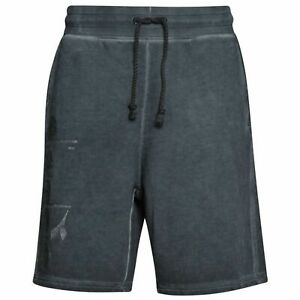 Diadora Bermuda Black Knee Length Mens Pocketed Shorts 80013