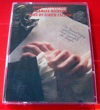 Charles Dickens David Copperfield 2-Tape Audio Book Simon Callow