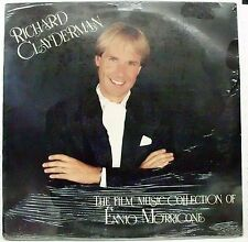CLAYDERMAN RICHARD THE FILM MUSIC COLLECTION OF ENNIO MORRICONE LP SEALED 1990