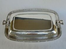 SCOTTISH JAMES CARR OF ABERDEEN CELTIC KNOT DESIGN SILVER PLATED ENTREE DISH