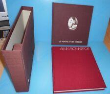 Coffret de 2 livres  Alain Bonnefoit. Le Peintre et ses modèles. Photographies
