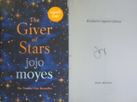 Signed Book The Giver of Stars by Jojo Moyes 1st Edition Hdbk 2019