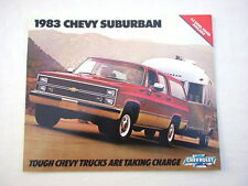1983 Chevy Suburban showroom sales brochure GM original publication MINT!