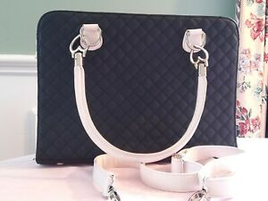 Forever New Tote Womens Handbag Large Zip Up Two Toned Bag