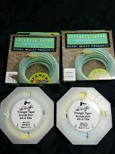 Royal Wulff Fly Lines Lot Of 2