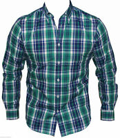 New Ben Sherman Mens Casual Shirt in Green Colour Size S Regular Fit