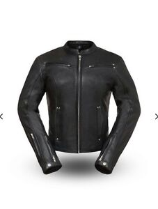 WOMAN'S SPEED QUEEN LEATHER JACKET. FIL158CLMZ