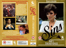 Sins Part 2 The Revenge - Joan Collins - Used Video Sleeve/Cover #16495