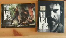 PS3 THE LAST OF US Joel Edition with art book - Pal European very good rare
