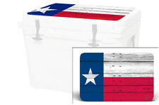 Usatuff Wrap Decal Lid Kit fits Yeti Haul Wheeled Cooler Texas Flag Wd