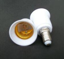 Hot 5X E14 zu E27 Basis LED-Licht Lampe Adapter Konverter Schraube Buchse CMDE