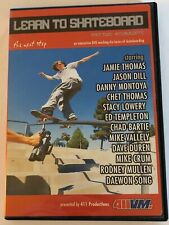 Learn to Skateboard The Next Step 411Vm Dvd Tested