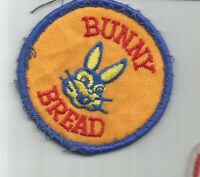 BUNNY BREAD advertising SMALL patch 2-1/2 in dia #3713