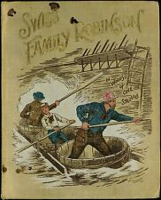 """""""Swiss Family Robinson"""", 1895 Children's One Syllable Edition, Very Rare"""