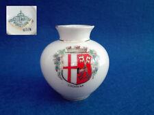 KRONACH BAVARIA Vase in miniature porcelain, shield Cochem Alemania, Numerado