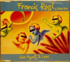 FRANCIS ROSSI 'GIVE MYSELF TO LOVE' 3-TRACK CD SINGLE