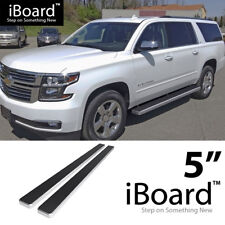 "Running Board Side Step 5"" Fit Chevy Avalanche/Suburban/GMC Yukon XL 00-18"