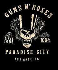 GUNS N' ROSES cd lgo PARADISE CITY SINCE 1985 Official TANK TOP SHIRT 2X New OOP