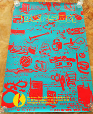 Beckmans College of Design - 1991 Fashion & Advertising Week Poster from Sweden