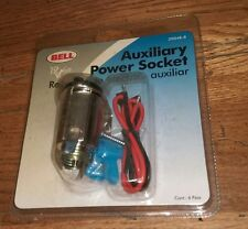 Bell 12 Volt Auxiliary Power Socket 39048-8 Automotive Auto Car Part Sealed New