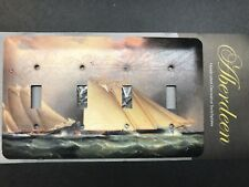 Light switch plate cover nautical sea boat