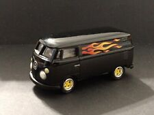 1965 VOLKSWAGEN VINTAGE  FLAMED DELIVERY VAN LIMITED EDITION COLLECTIBLE 1/64