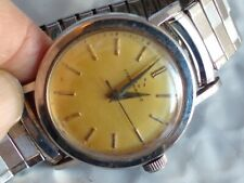 Sweet! Vintage ETERNA MATIC All S.S. 17J Mens Wrist Atomatic Watch Classic!