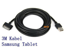 "USB 30pin Datenkabel Ladekabel 3M für Samsung Galaxy Tab Tablet 7"" 8.9"" 10"" ST3M"